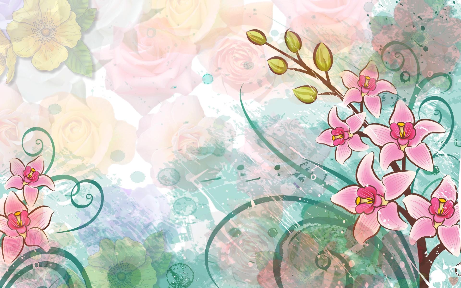 Рисунок «Цветок в вазе» поэтапно для начинающих. Как 63